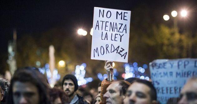 Imagen de archivo de una protesta contra la ley