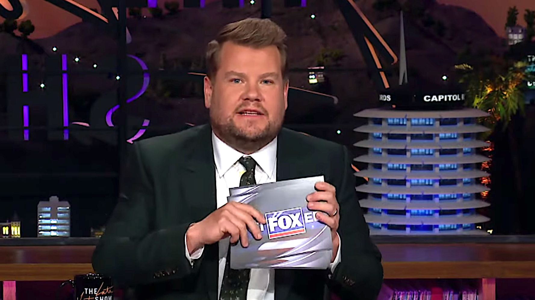 James Corden Savagely Rewrites Headlines For Fox News