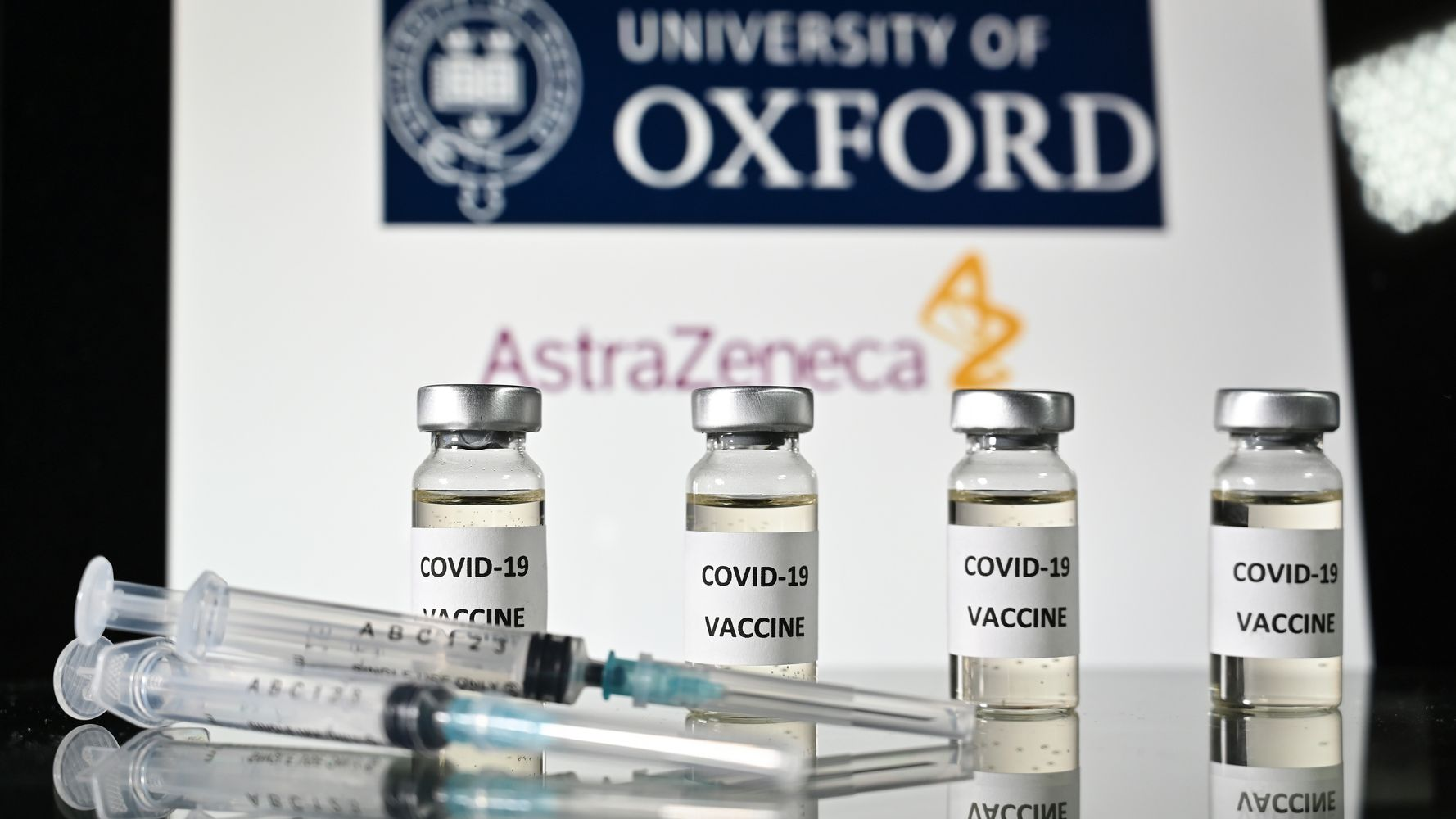 AstraZeneca COVID-19 Vaccine Data Shows Promise In Elderly