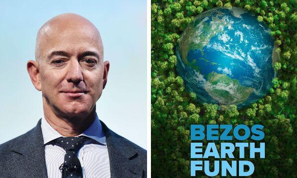 Bezos, patron di Amazon, dona 791 milioni a 16 associazioni ambientaliste contro il climate change