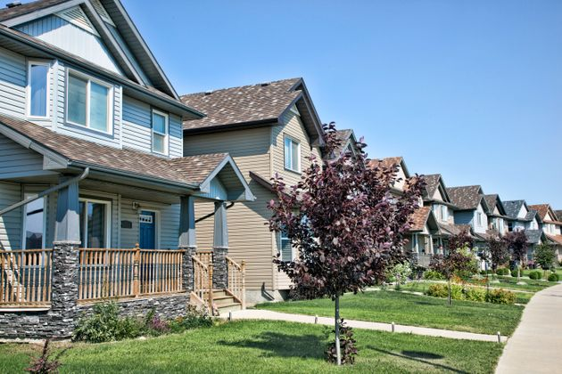 Homes in Saskatoon's Stonebridge neighbourhood, seen in this undated file photo. The Teranet-National...