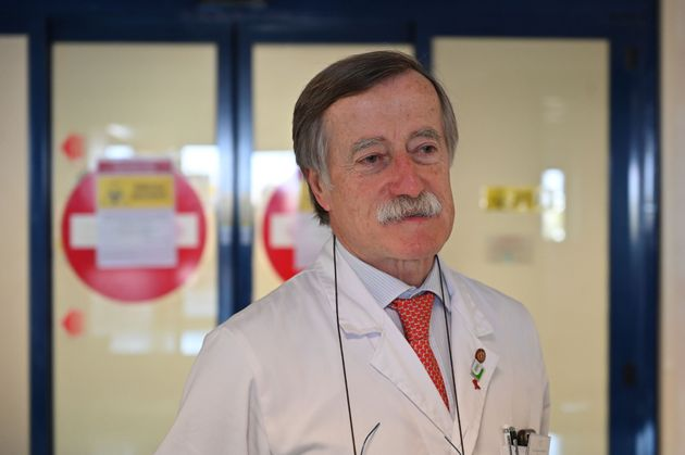 Italian infectologist Massimo Andreoni, Director of the Department of Infectious Diseases of Policlinico...