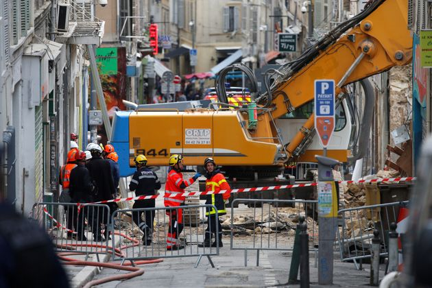 Début novembre 2018, deux immeubles s'étaient effondrés à Marseille, rue...