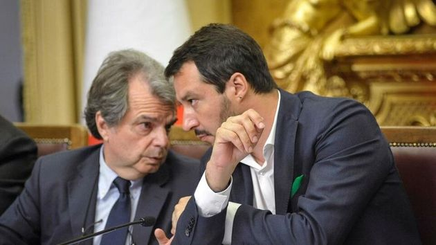 Renato Brunetta e Matteo