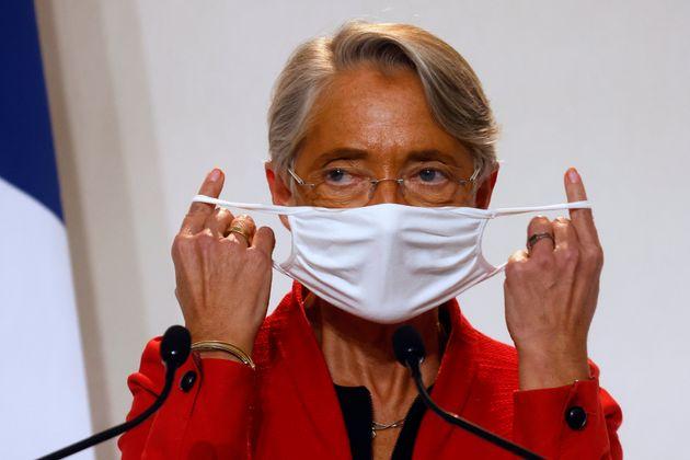 La ministre du Travail Élisabeth Borne, ici à Paris, le 12 novembre