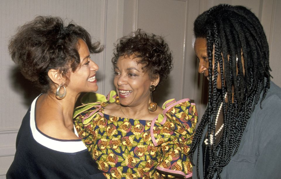 Allen, Ruby Dee and Whoopi Goldberg at the Women in Film awards on June 7,