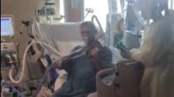 集中治療室のコロナ患者、感謝のバイオリン演奏が感動呼ぶ。「暗闇の中の光だった」(アメリカ・ユタ州)【動画】