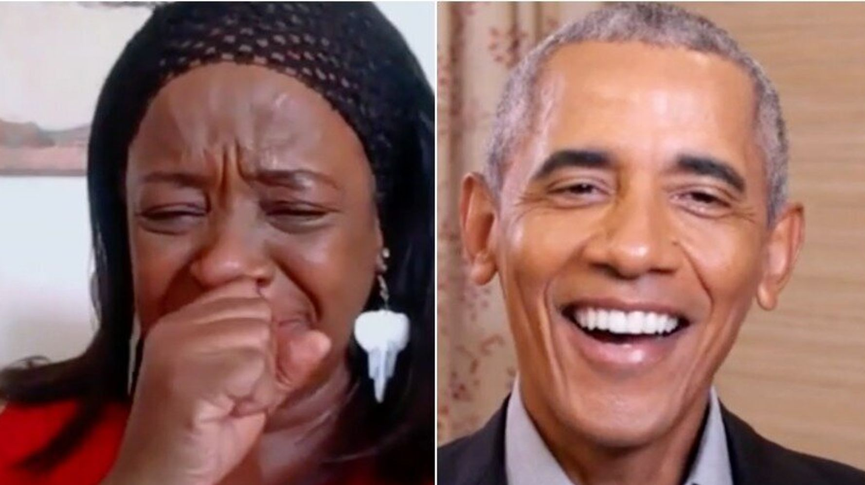 Barack Obama Surprises A Super-Fan In The Sweetest Jimmy Kimmel Prank Ever