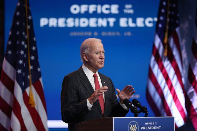 El presidente electo de los Estados Unidos, Joe