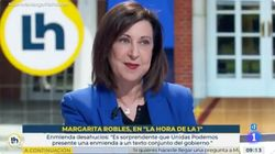 El aviso a navegantes de Robles a Iglesias: más claro