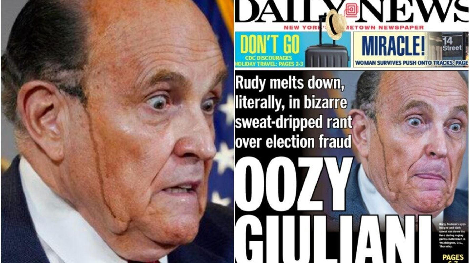 New York Daily News Taunts Rudy Giuliani With A Mucky New Nickname