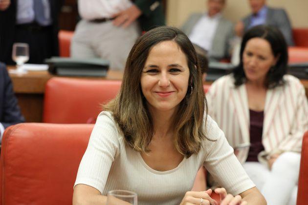 Ione Belarra, secretaria de Estado de Agenda