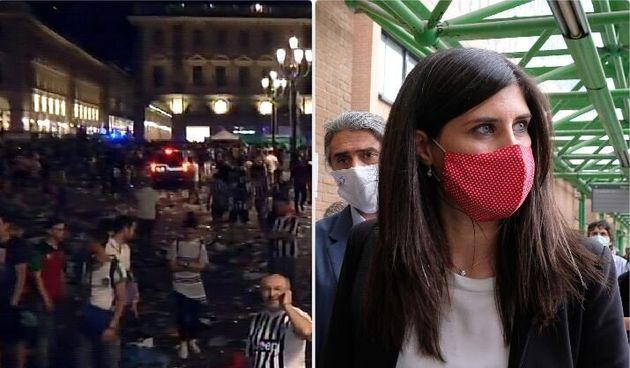 Le scene di panico in piazza San Carlo il 3 giugno 2017 durante la finale di Champions League - la sindaca...