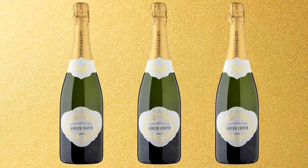 The winning bubbly