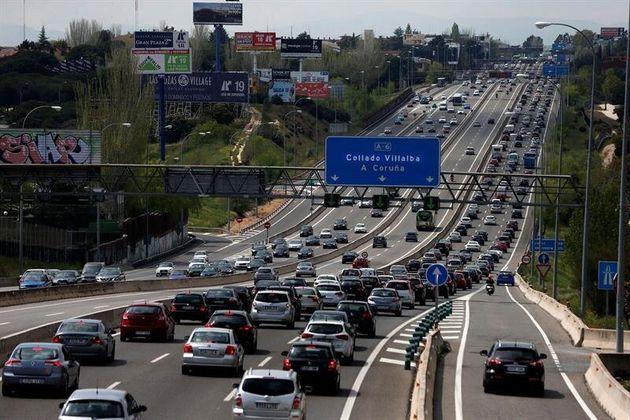 Imagen del tráfico en una carretera