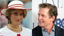 Michael J. Fox recuerda el incómodo momento que vivió al conocer a Lady Di: