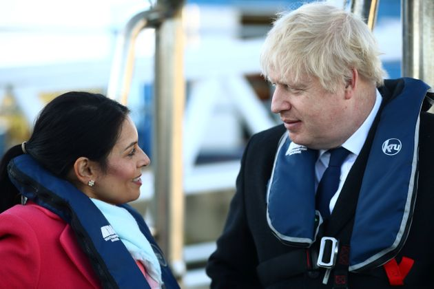 Patel and Johnson in happier