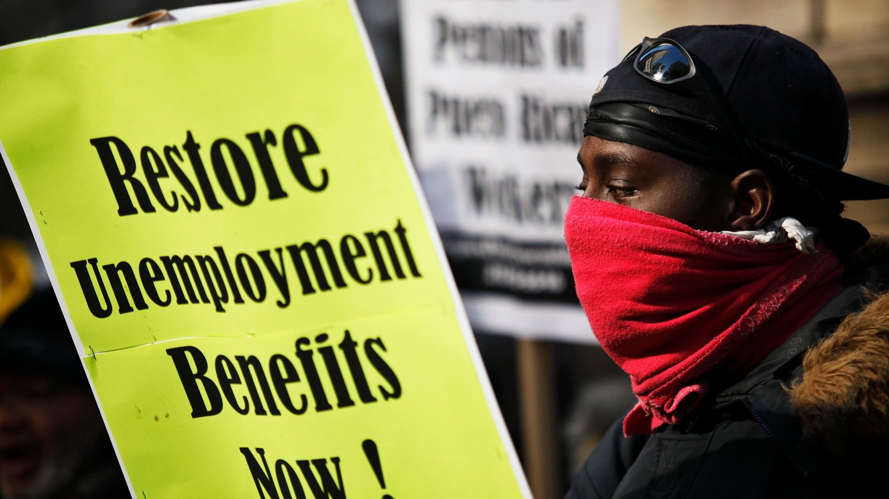 Laid-Off Workers Lobby For Unemployment Benefits To Continue