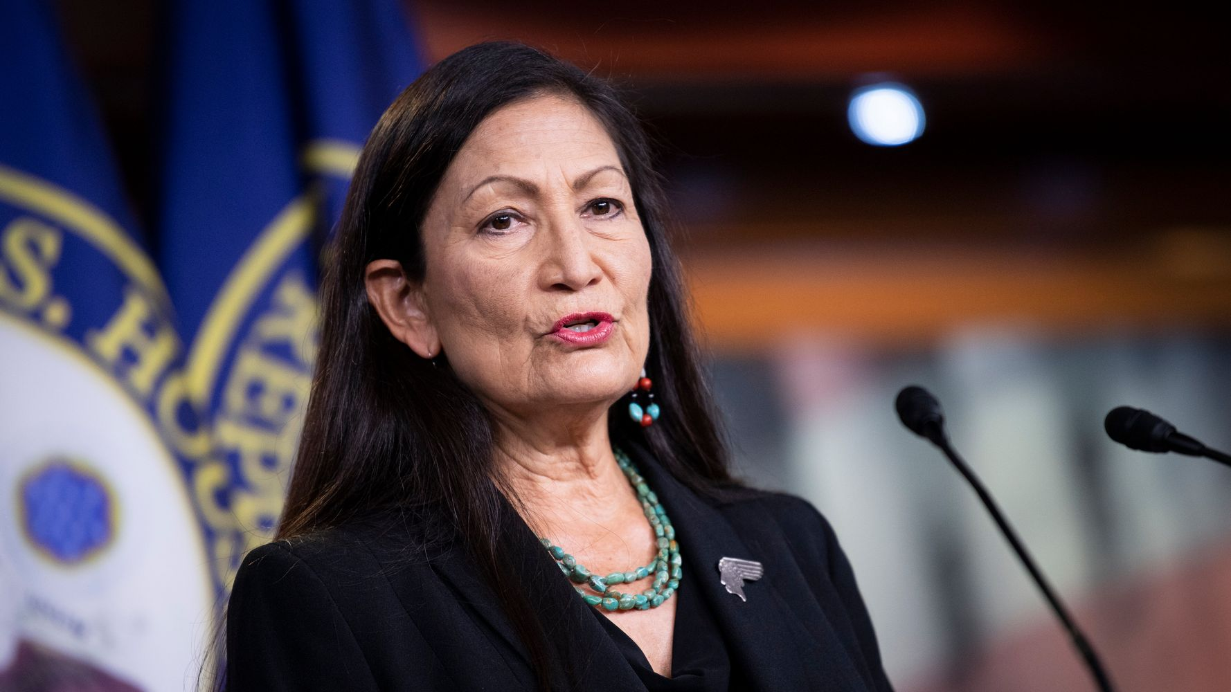 Dozens Of Lawmakers Urge Biden To Pick Deb Haaland For Interior Secretary