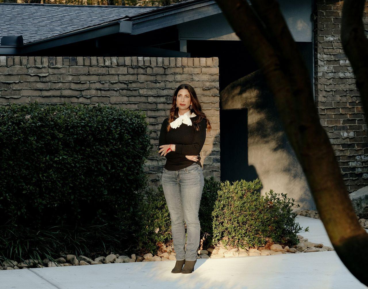 Lisa Bowman at her home in Atlanta in November.