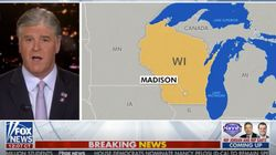 Fox News Map Mistake Gives Part Of Michigan To