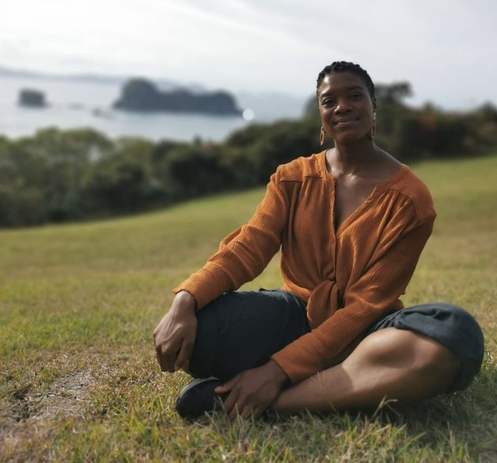 The author at Coromandel in North Island, New Zealand, in 2020.