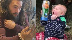 7歳のがん患者の少年、大好きなアクアマンからのサプライズに大喜び。「真のヒーロー」と感動広がる