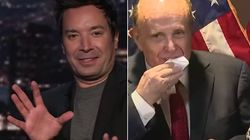 Jimmy Fallon Points Out The Gag-Inducing Rudy Giuliani Moment People May Have