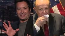, Jimmy Fallon Points Out The Gag-Inducing Rudy Giuliani Moment People May Have Missed