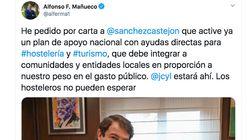 Cachondeo con este tuit del presidente de Castilla y León: en la foto está la
