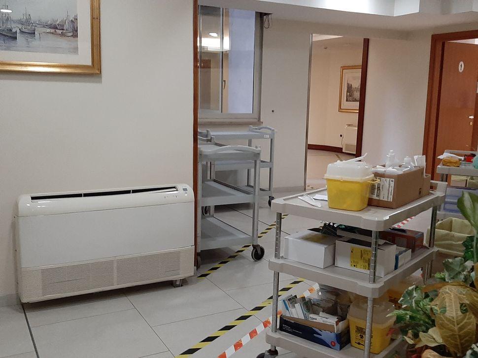 Sala medica Covid