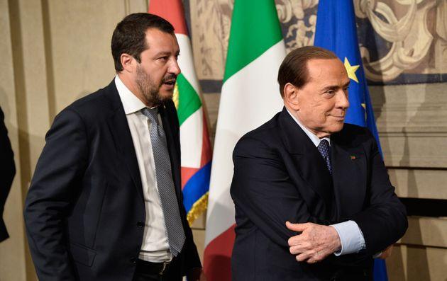 Telefonata cordiale tra Matteo Salvini e Silvio