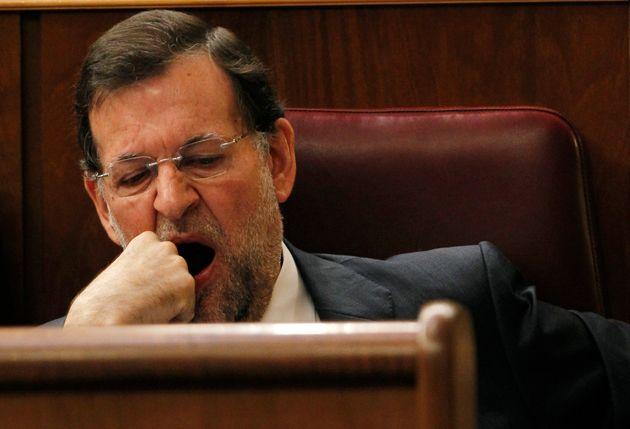 Mariano Rajoy, en su