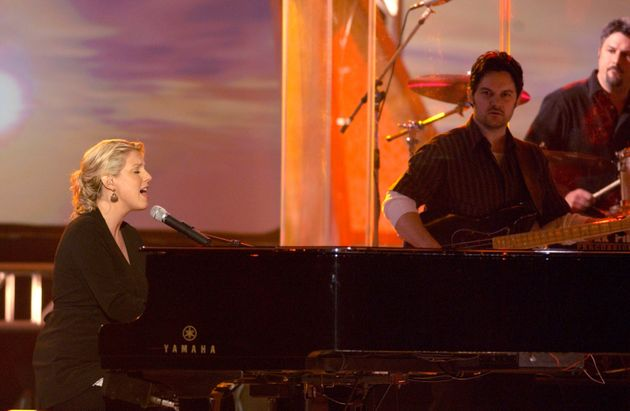 Nichole Nordeman performs at the 34th Annual Dove Awards in
