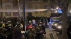 Des incidents à Paris à la fin de la manifestation contre