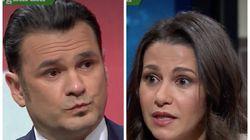 Arrimadas sorprende con su respuesta en 'LaSexta Noche' a las críticas de Albert Rivera: la cara de Iñaki López lo dice