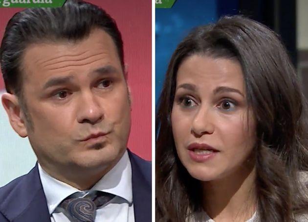 Iñaki López e Inés Arrimadas en 'LaSexta