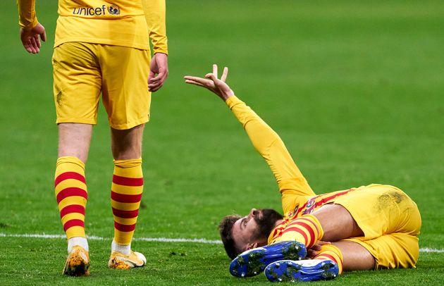 Gerard Piqué se duele de su