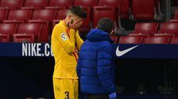 El Atlético, líder tras ganar a un Barça tocado