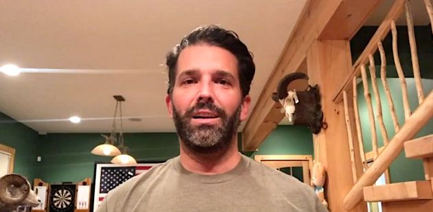 Don Trump Jr. in quarantine: Happy at home, cleaning his