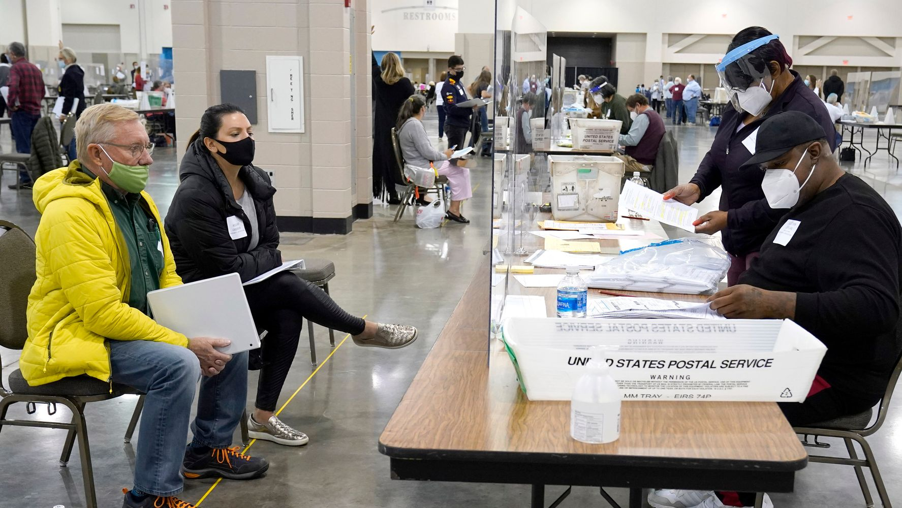 Wisconsin Officials Accuse Trump Observers Of Obstructing Recount