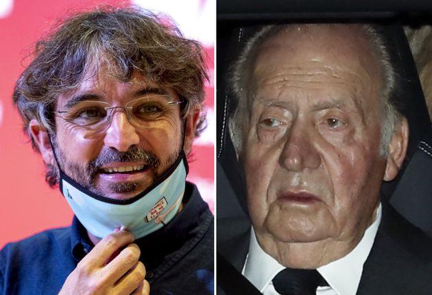 Jordi Évole y Juan Carlos