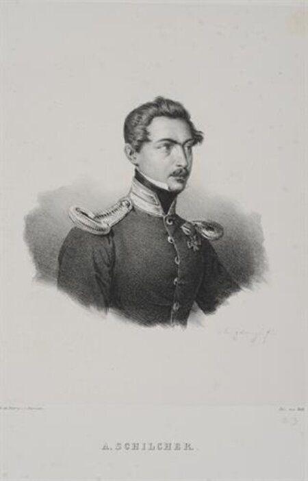 Antoine Schilcher. ΟΓερμανός Φιλέλληνας που αγωνίσθηκε και πέθανε στην