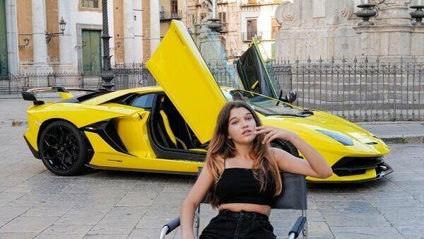 Lo scatto di Letizia Battaglia per la Lamborghini