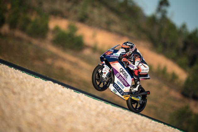 El piloto español Albert Arenas, campeón del mundo de Moto