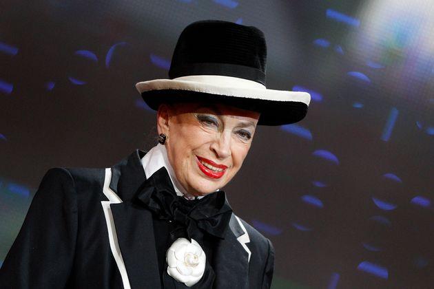 Genevieve de Fontenay lors du Téléthon en décembre 2011 (REUTERS/Gonzalo