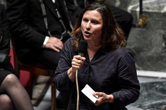 Roxana Maracineanu, ici s'exprimant à l'Assemblée nationale à Paris, le 28 juillet