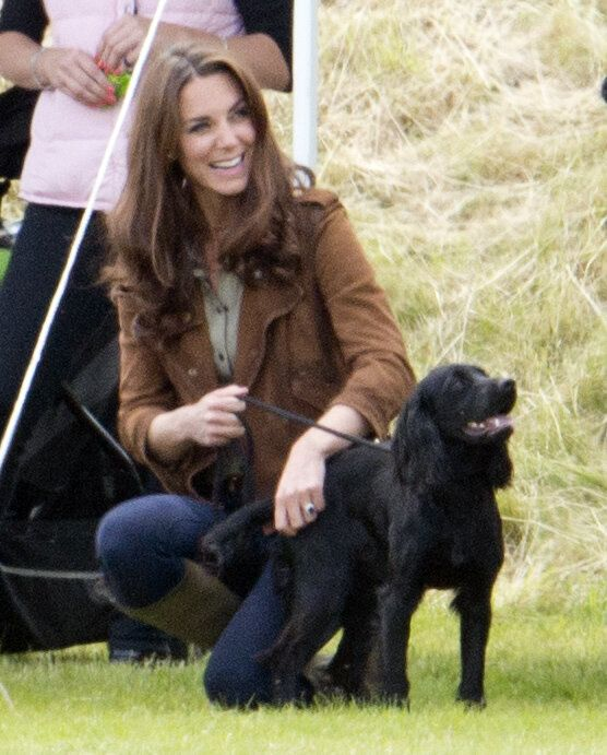 Kate with Lupo.