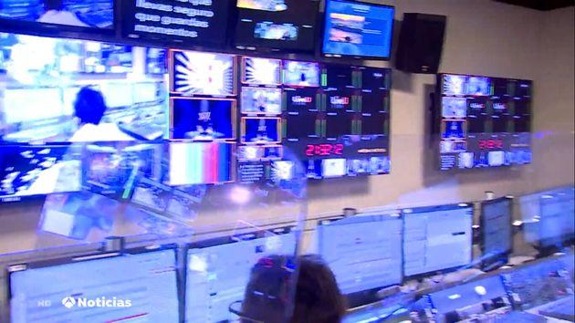 El control de realización de 'Antena 3
