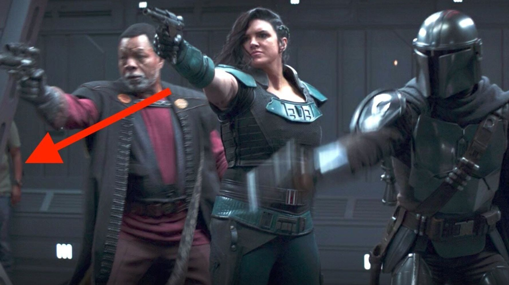 WHOOPS! 'Star Wars' Fans Spotted A Big Goof In Latest 'Mandalorian' Episode